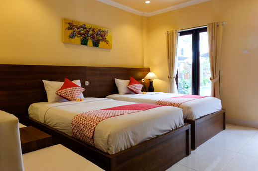 OYO 706 My Home One Gili Trawangan Lombok - Guest Room