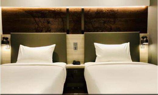 Simple Hotel Jakarta Wahid Hasyim Jakarta - Superior Twin