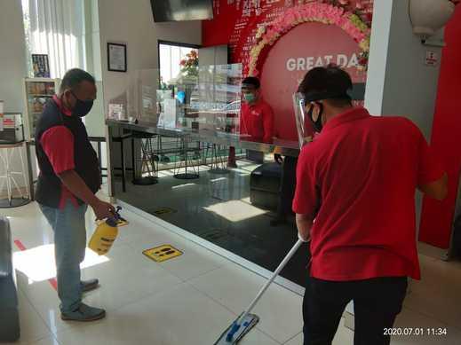 G Suites Hotel Surabaya - Covid Preventive