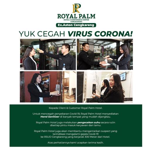 Royal Palm Hotel & Conference Center Cengkareng Jakarta - Hygiene