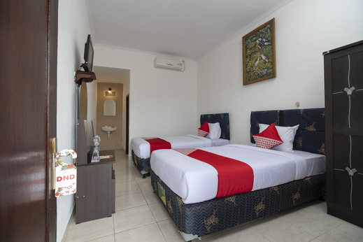 OYO 636 Apartmen Kak Okoh Bali - Bedroom
