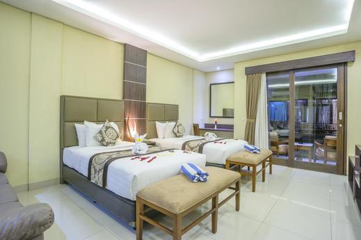 d'Penjor Seminyak Hotel Bali - Bedroom