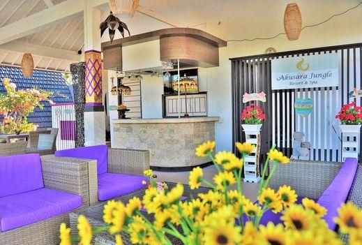 Akusara Jungle Resort And Spa Bali - Restaurant