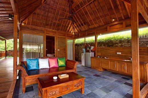 Ubud Heaven Sayan - Living Area