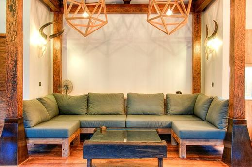 Kuno Villas Lombok - Living Area