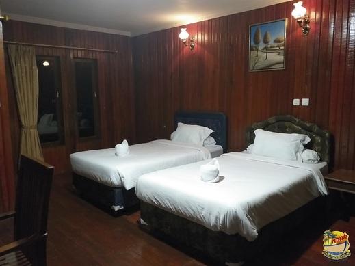 Noah Maratua Resort  Berau - Kamar Tidur Water Villa