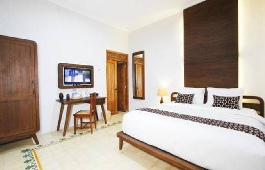 Joglo Mandapa Boutique Hotel And Resto Jogja - Kamar tidur