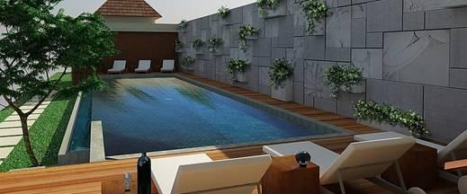 Svarna Suite Seminyak Bali - Kolam Renang