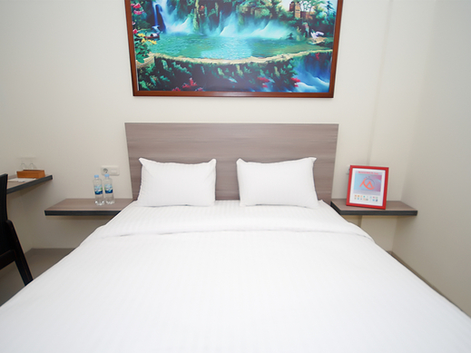The Maximus Inn Hotel Palembang - standard double bedroom