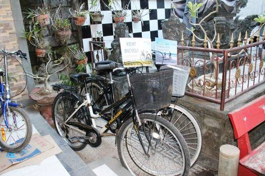 NIDA Rooms Polonia 25X Kuta Bali - Sepeda