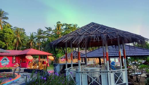 La Merry Resort Minahasa Utara - Gazebo Area