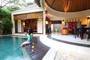The Bali Bliss Villa Bali - kolam renang