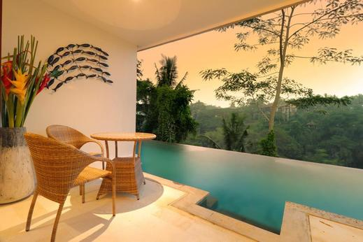The Hidden Paradise Hill Suites and Villas by EPS Bali - Balcony