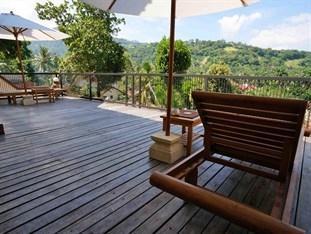 Villa Mataano Lombok - Balkon