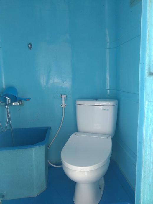 Maulana Hills Syariah Glamping Tent Bandung - Bathroom