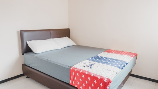 Villa deDaun - 2 Bedrooms Malang - bedroom