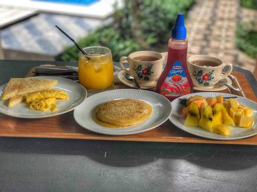 Madeira inn Villa Bali - Sarapan