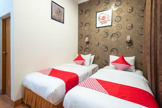 OYO 836 Oasis Hotel Yogyakarta - Bedroom