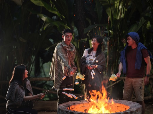 The Lodge Maribaya Bandung - Api Unggun