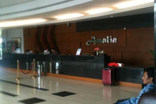 Hotel Amalia  Lampung - Resepsionis