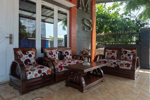 OYO 609 MS Hotel Pangandaran Pangandaran - common area