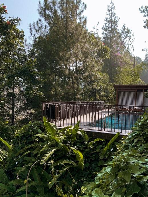 7 BR Hill View Villa with a private pool 1 Bandung - Kolam Renang