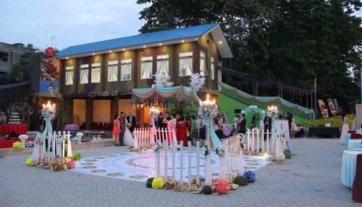 Angkasa Garden Hotel Pekanbaru - Wedding Party Outdoor
