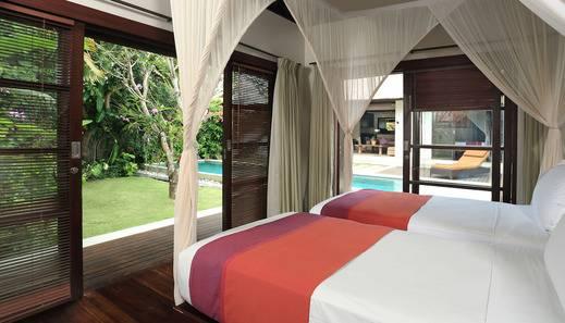 Villa Bali Asri Seminyak Bali - Deluxe 2Bedroom Villa