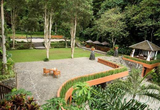 Sangria Resort & Spa Bandung - Resort View