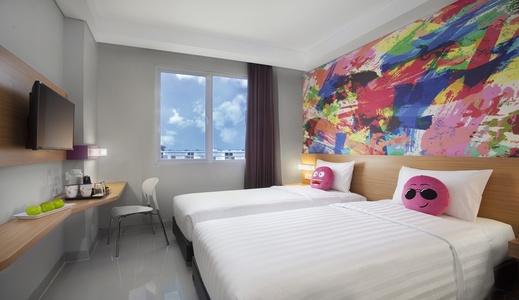 favehotel Hasyim Ashari Tangerang Tangerang - Bedroom