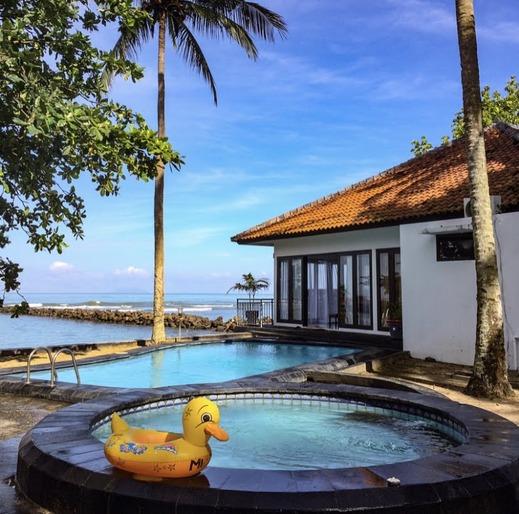 Bintang Laut Resort Pandeglang - pantai