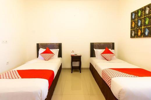 OYO 401 The Frog Homestay Sanur Bali - Bedroom