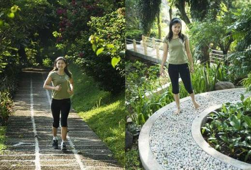 The Cipaku Garden Hotel Bandung - Jogging Track