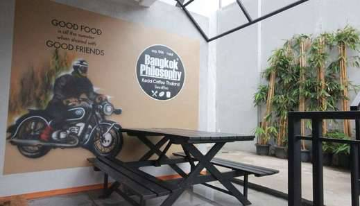 Harvia Suites Jakarta - kafe masuk