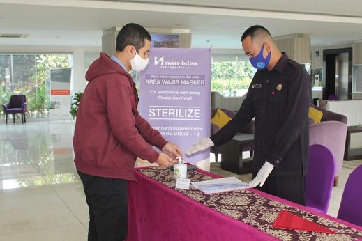 Swiss-Belinn Cibitung Bekasi - hand sanitizer
