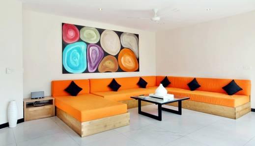 K Villas by Premier Hospitality Asia Bali - Ruang Tamu