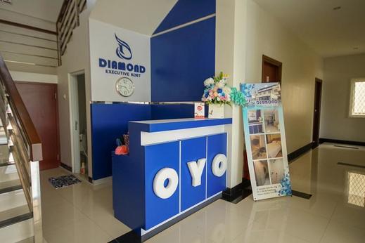 OYO 330 Diamond Executive Kost Palembang - Reception