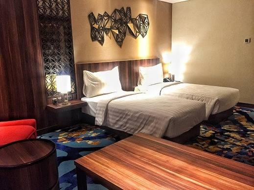 Grand Soll Marina Hotel Tangerang - kamar Twin