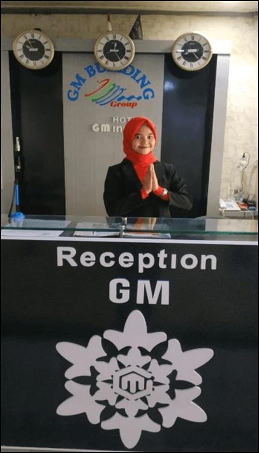 GM Backpacker Banda Aceh - reception