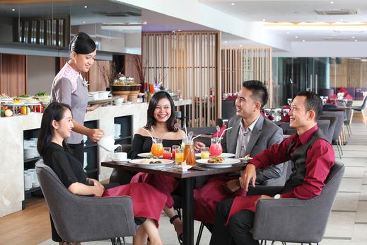 Swiss-Belinn Modern Cikande Serang - Restaurant