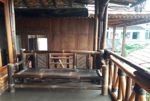 Villa Bambu Atas @ Sangkuriang Village Lembang - Exterior
