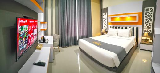 Aidia Grande Hotel Bandar Lampung - Satu tempat tidur