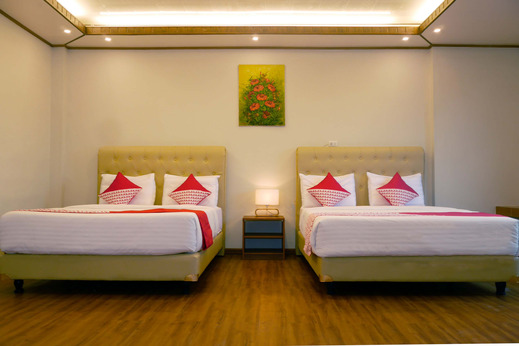 OYO 740 Joyful Hotel Belitung - Bedroom SF