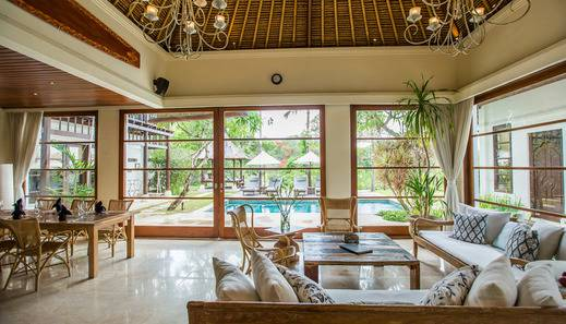 Karma Jimbaran Bali - 4 Bedroom Pool Villa Living room
