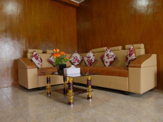 Resort Pantai Indah Batu Bedaun Bangka - Living room