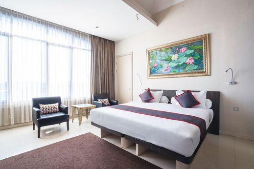 Collection O 14 Sun Boutique Hotel Bali - Bedroom