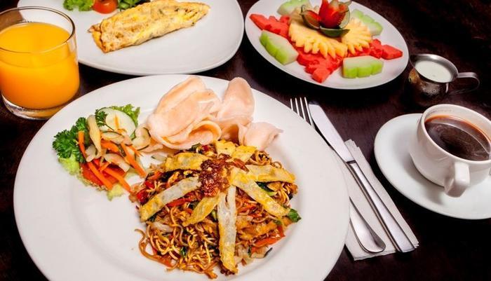 Ivory Resort Seminyak - Breakfast menu Indonesia