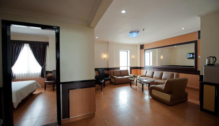 Hotel Derawan Indah Berau - Ruang tamu