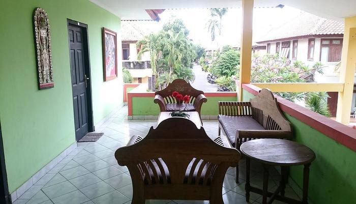 Sapta Petala Hotel Bali - Area tempat duduk
