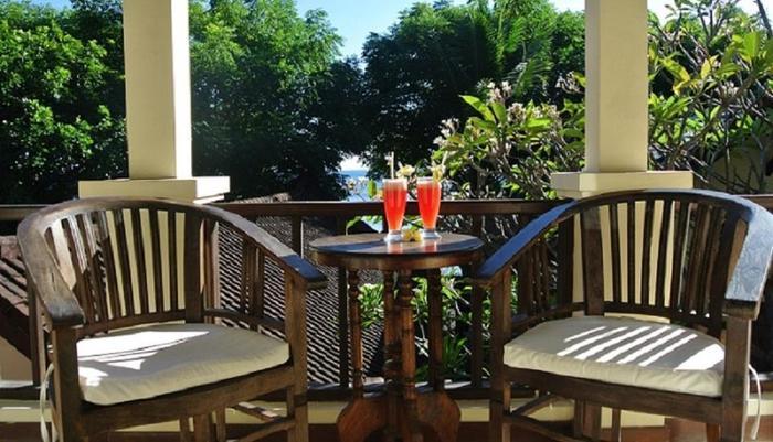Villa Coral Amed - Balkon